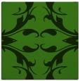 rug #1126071 | square green damask rug