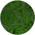 rug #1126163 | round light-green natural rug