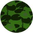 rug #1126263 | round light-green natural rug