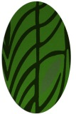 rug #1126275 | oval light-green rug