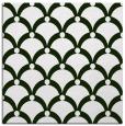 rug #1126351   square green retro rug