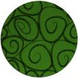 rug #1126363 | round green circles rug