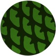rug #1126403 | round green abstract rug