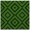 rug #1126431 | square green retro rug