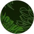 rug #1126483 | round light-green rug
