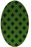 rug #1126676   oval check rug