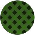 rug #1126683 | round green check rug