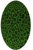 rug #1126775   oval light-green animal rug