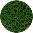 rug #1126783 | round light-green circles rug