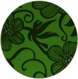 rug #1126943 | round light-green natural rug