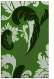rug #1127139 |  light-green damask rug