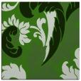 rug #1127151 | square green damask rug