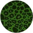 rug #1127203 | round green circles rug
