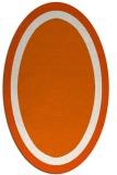 rug #112728 | oval plain rug