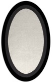 rug #112729 | oval plain white rug