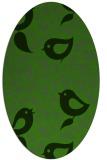 rug #1127315   oval light-green animal rug