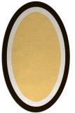 rug #112755 | oval borders rug