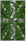 rug #1127559 |  green damask rug