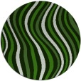 rug #1127663 | round green abstract rug