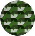 rug #1127683 | round green circles rug