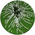 rug #1127743 | round green abstract rug