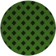 rug #1127783 | round green check rug