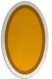 rug #112793 | oval plain light-orange rug
