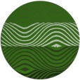 rug #1128043 | round green abstract rug