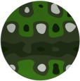 rug #1128083 | round light-green abstract rug