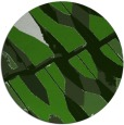 rug #1128383 | round green abstract rug