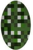 rug #1128397 | oval geometry rug