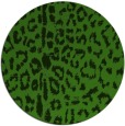 rug #1128443 | round light-green rug