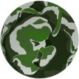 rug #1128623 | round light-green abstract rug