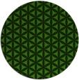 rug #1128743 | round light-green rug