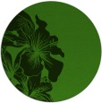 rug #1128783 | round light-green natural rug