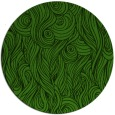 rug #1128883 | round green abstract rug