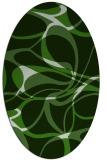 rug #1128896   oval retro rug