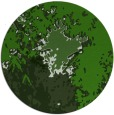rug #1128923 | round green abstract rug