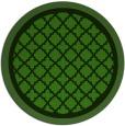 rug #1129003 | round light-green rug