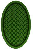 rug #1129016 | oval borders rug
