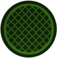 rug #1129023 | round light-green borders rug