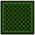 rug #1129031 | square light-green borders rug