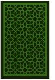 rug #1129039 |  light-green borders rug