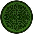 rug #1129043 | round green geometry rug