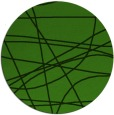 rug #1129183 | round green abstract rug