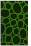 rug #1129259    light-green circles rug