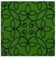 rug #1129351 | square green traditional rug