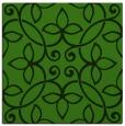 rug #1129351 | square light-green traditional rug