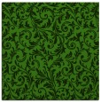rug #1129371 | square light-green damask rug