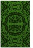 rug #1129379 |  light-green damask rug